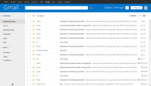 Windows 8 Outlook Theme / Skin Gmail