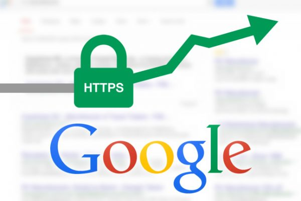 Google boosts ranking of secure HTTPS websites.